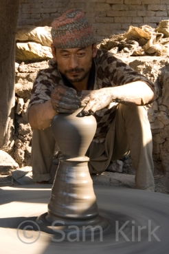 Potter, Nepal